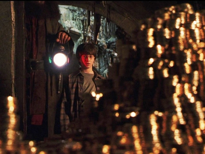 Vault 687 at Gringotts Wizarding Bank